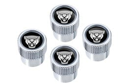 Styled Valve Caps - Jaguar Logo, NAS only