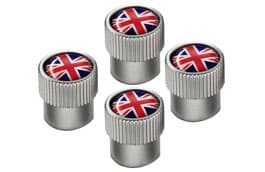 Styled Valve Caps - Union Jack