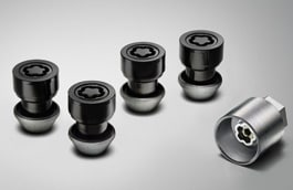 Locking Wheel Nuts - Black
