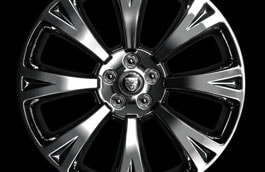 "Alloy Wheel - 20"" Orona, with Polished finish, Rear"