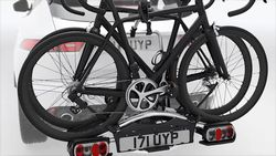 Tow Bar Mounted 2 Cycle Carrier, RHD