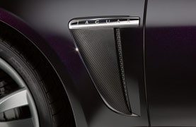 Side Power Vent - Carbon Fibre, Right Side
