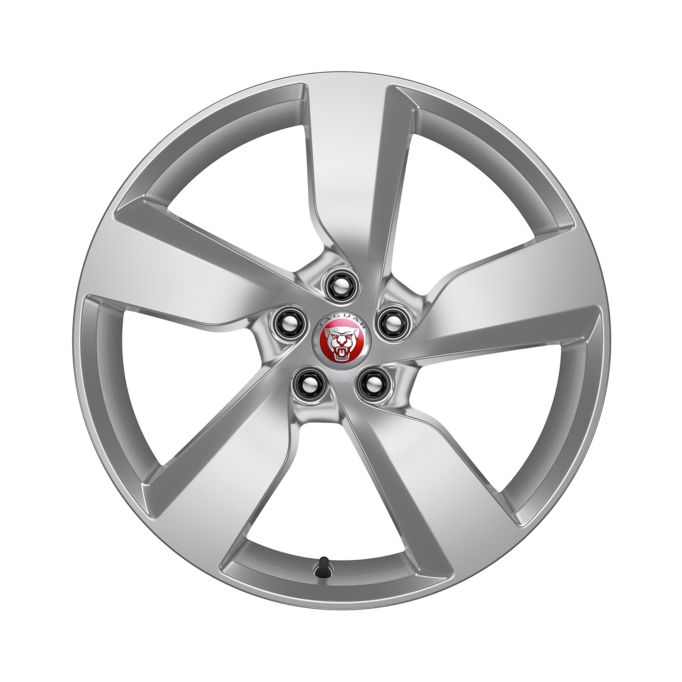 "Alloy Wheel - 19"" 5 Spoke, 'Style 5049', with Silver Sparkle finish"