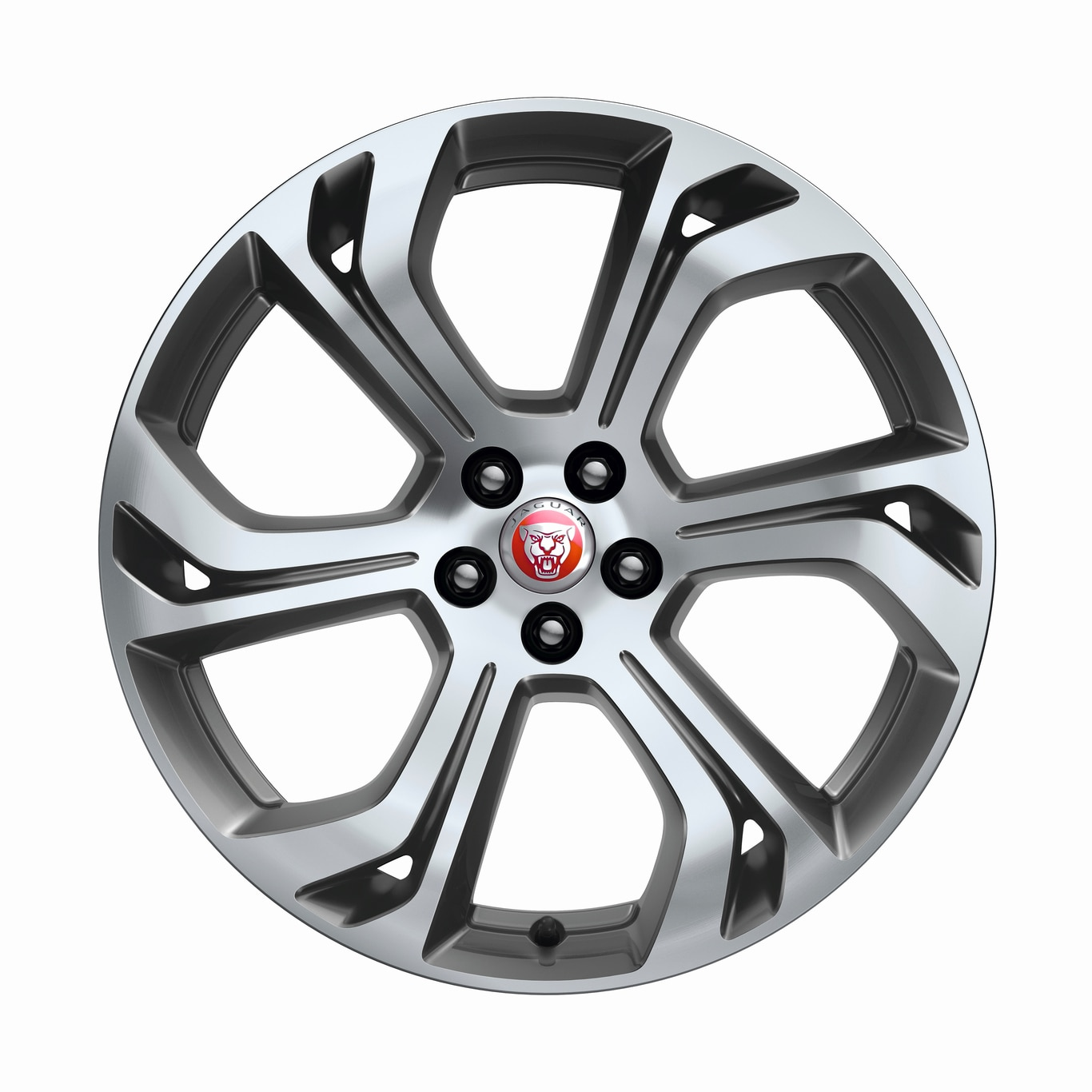"Llantas de Aleación - 20"" 6 Split-Spoke, 'Style 6014', with Satin Grey Diamond Turned finish"