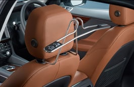 Headrest Mounted Coat Hanger