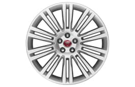 "Alloy Wheel - 20"" Matrix, 10 twin-spoke, with Silver finish"