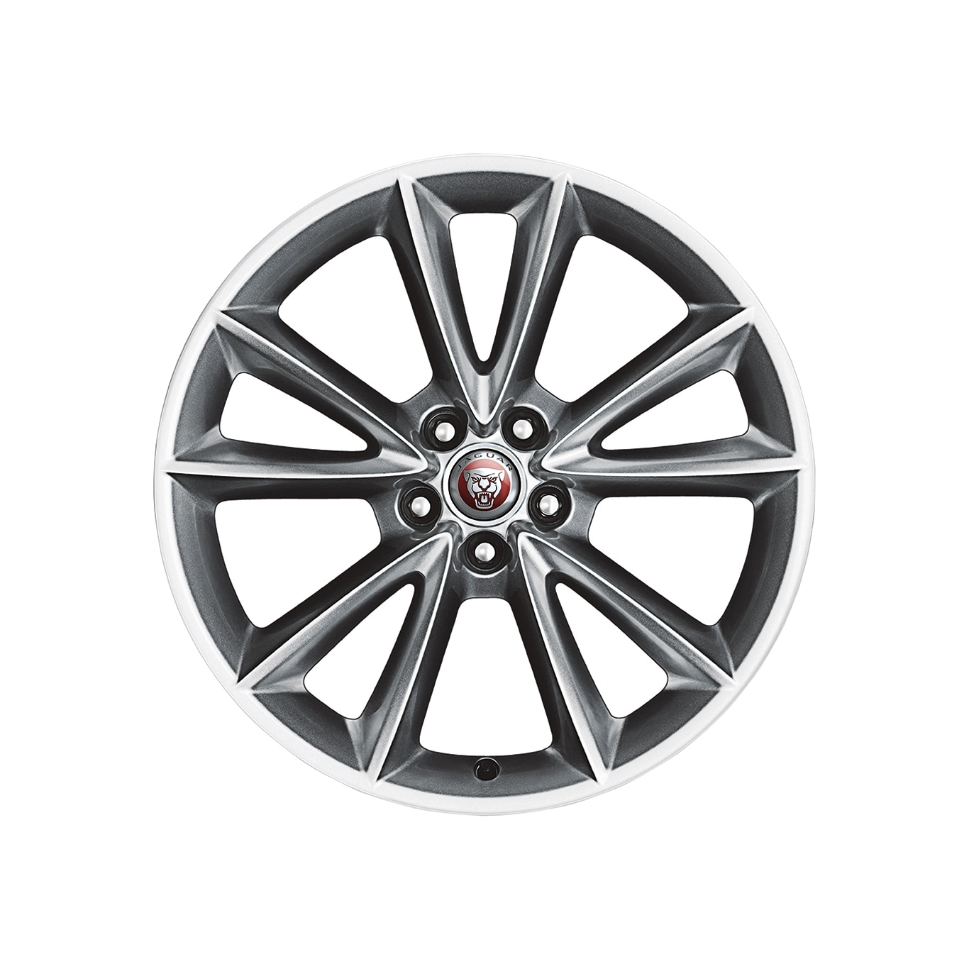 "Alloy Wheel - 19"" Style 5057, 5 split-spoke, Front"