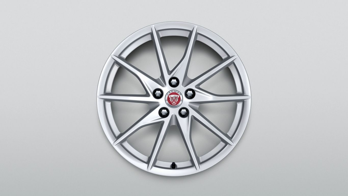 "Alloy Wheel - 18"" Style 1036, 10 spoke, Front"
