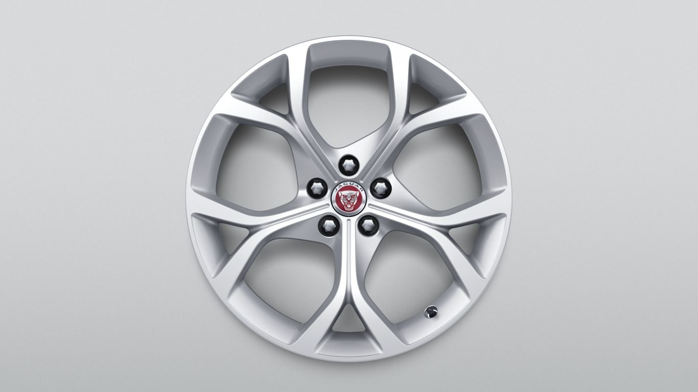 "알로이 휠 - 19"" Style 5101, 5 split-spoke, Silver, Rear"
