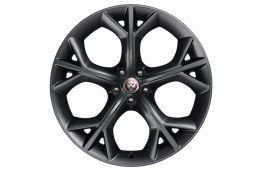 "Alloy Wheel - 20"" Style 5040, 5 split-spoke, Grey, Front, Pre 21MY"