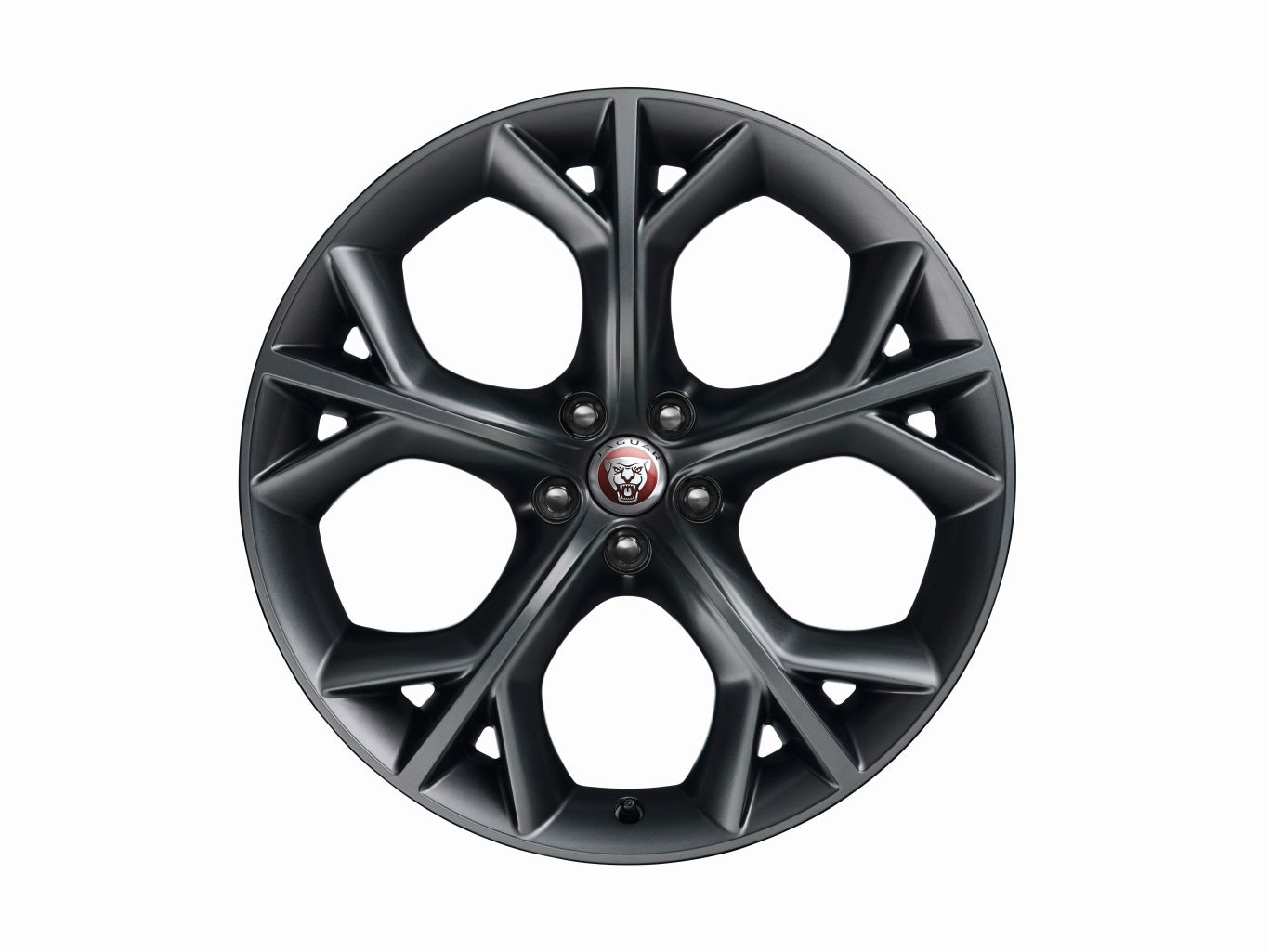 "Alloy Wheel - 20"" Style 5040, 5 split-spoke, Grey, Rear, Pre 21MY"