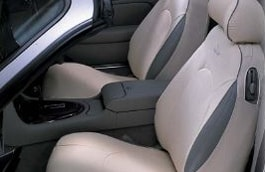 Cotton seat cover - Rear Set