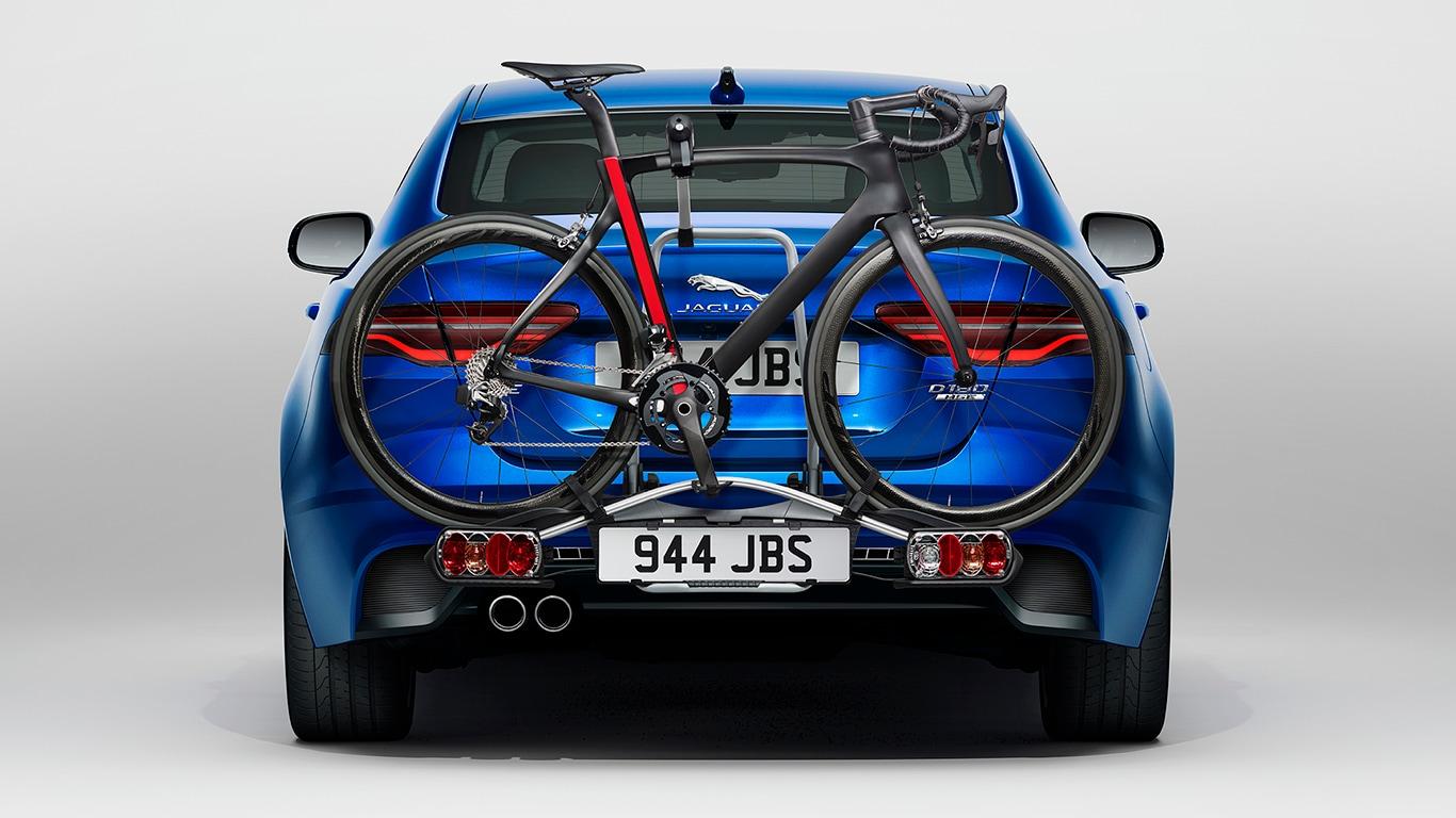 Jaguar Accessories Xe 운반 및 견인 운반 토우바 장착용 자전거 케리어