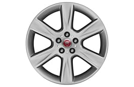 "Alloy Wheel - 18"" Arm, 6 spoke, with Silver finish"
