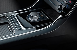 Gear Selector - Black Leather Top