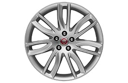 "Alloy Wheel - 19"" Style 7012, 7 split-spoke, Silver"