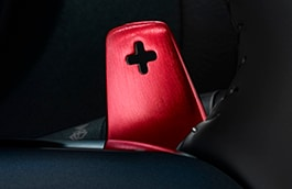 Gearshift Paddles - Aluminium, Red, Automatic only