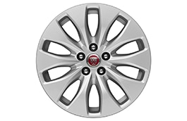"Alloy Wheel - 17"" 10 Spoke, 'Style 1017' with Silver finish"