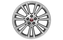 "Alloy Wheel - 19"" Style 7013, 7 split-spoke, Silver"
