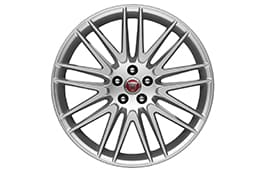 "Alloy Wheel - 20"" Style 9004, 9 split-spoke, Silver"