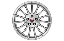 "Alloy Wheel - 17"" Style 1016, 15 spoke, Silver"