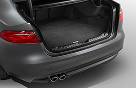Luggage Compartment Luxury Carpet Mat - Tyre Repair Kit