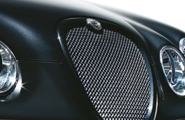 Upper Mesh Grille - Bright Finish/Primed