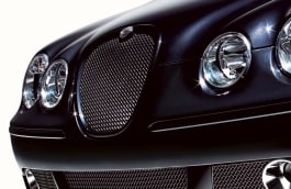 Upper Mesh Grille - Black/Primed Finish